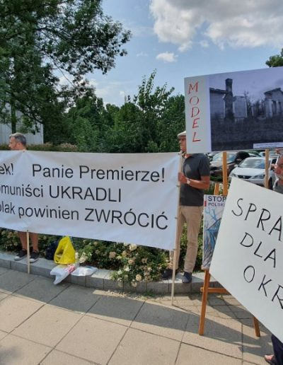 Protest PTZ pod Sejmem 22.07