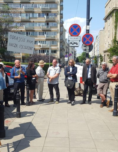 PROTEST PTZ POD SEJMEM 22.07.2021